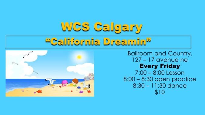 California Dreaming friday