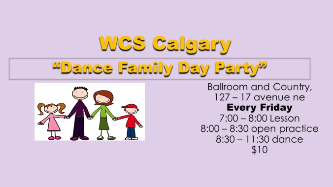 WCS Family day  event graphic