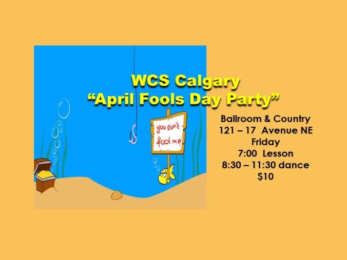 April Fools Theme