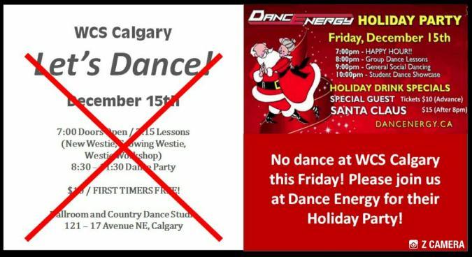 Dec 15 no dance