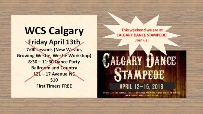 dance stampede
