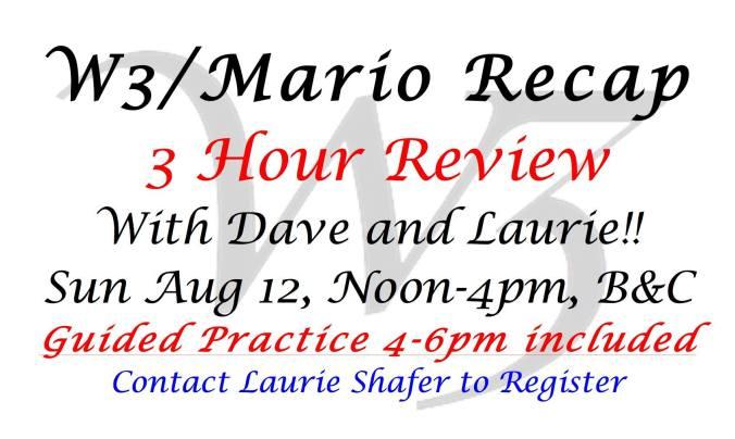 mario review aug 12