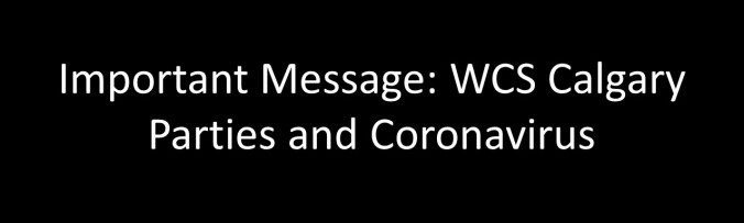 important wcs message graphic